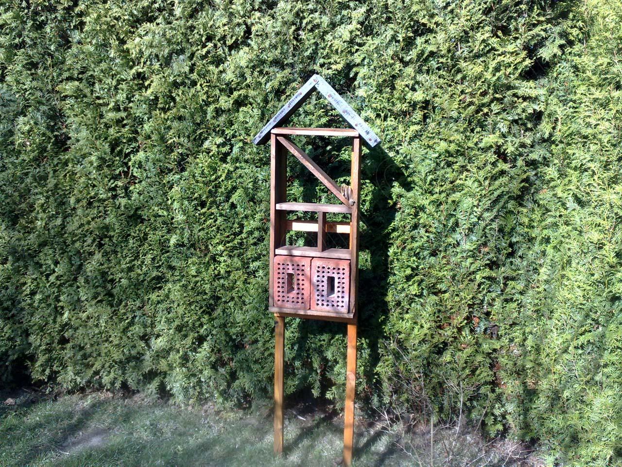 diy – insektenhotel selber bauen | vegetation daheim