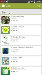 neben relevanten Apps sind auch Spiele und sonstige Programme vertreten